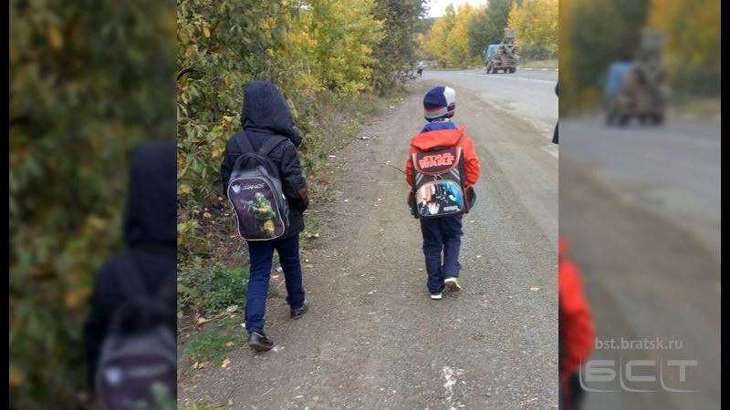 Водитель автобуса отказался везти школьников в Сосновый бор и высадил их на трассе