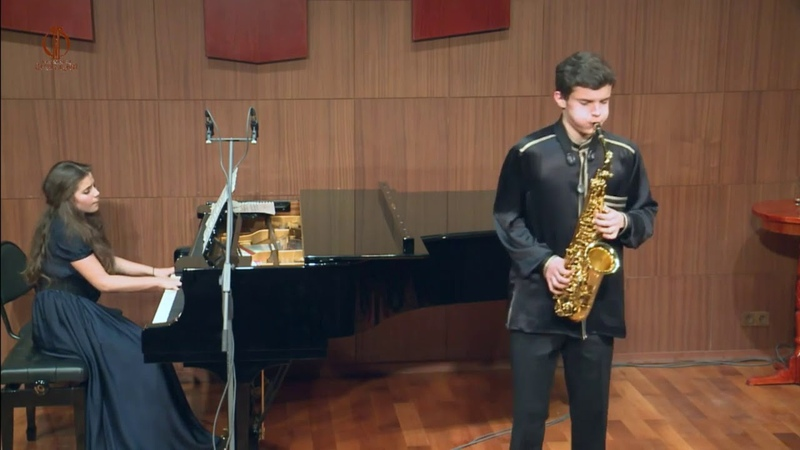 Юрий Шерлинг Matvey Sherling performs E Bozza's 'Aria for alt sax and piano '