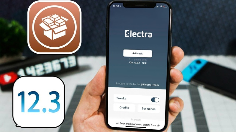 Jailbreak ElectraRC3 Released 12.3.1 - 12.2 - 12.1.4 Support! [Cydia A12]