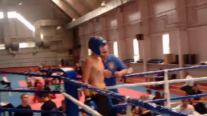 Финальный бой Никита синий угол