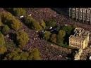 Тереза Мэй в ШОКЕ! На улицы Лондона вышло ПОЛМИЛЛИОНА несогласных с политикой главы кабинета!