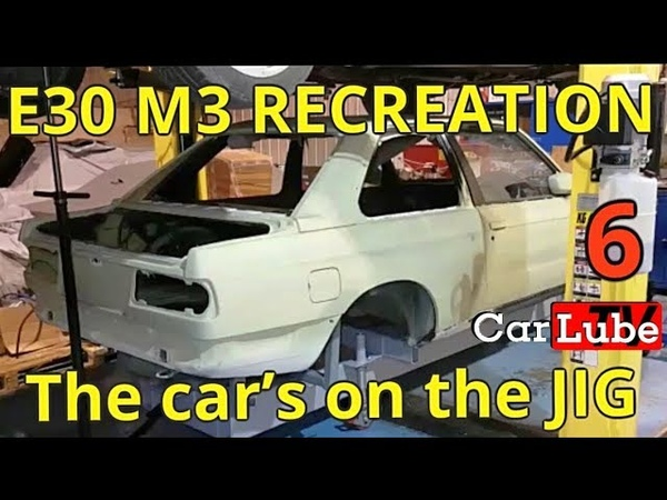 6th Epp | E30 M3 Recreation | Car mounted to the body Jig