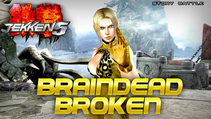 Did You Know Tekken 5 Nina Was Braindead Broken? Just Like Her Son!