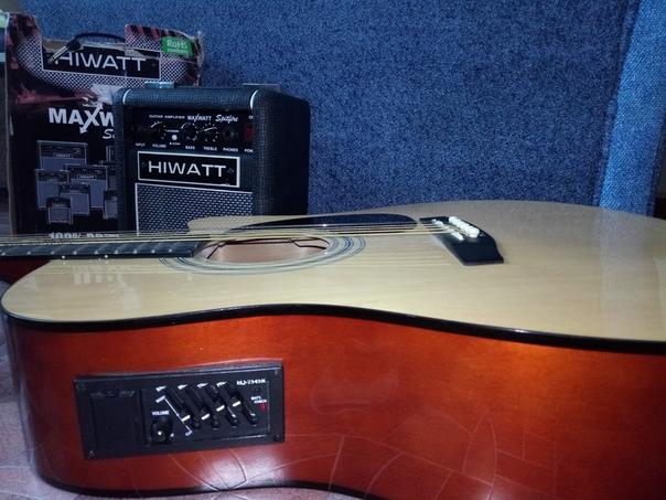 Меняю акустическую гитару