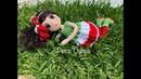 Botas en crochet muñeca María amigurumis by Petus 7a parte English subtitles