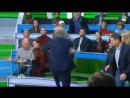 Драка московского журналиста Норкина и Суворова в прямом эфире на НТВ