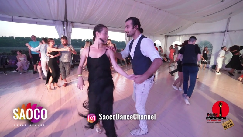 Tomas Munur Tenekeci and Alexandra Kuznetsova Salsa Dancing in Malibu, The Third Front 04.08.18 (SC)