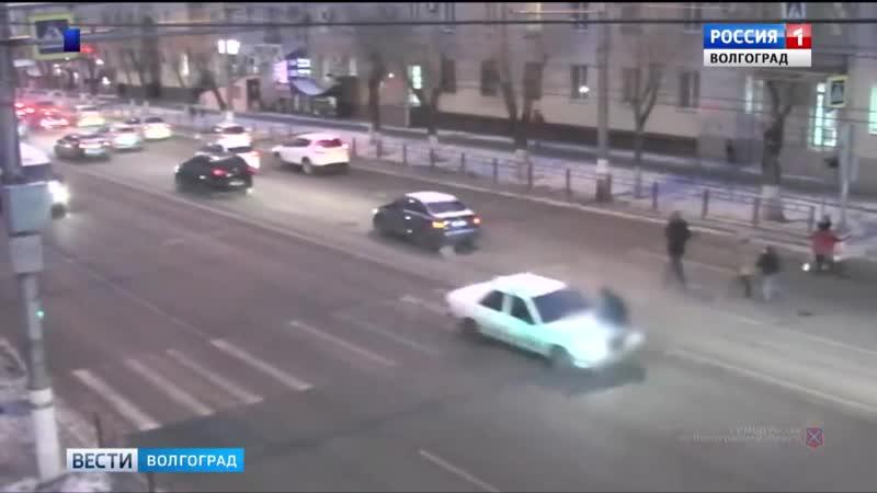 В Волгограде задержан водитель, сбивший школьника