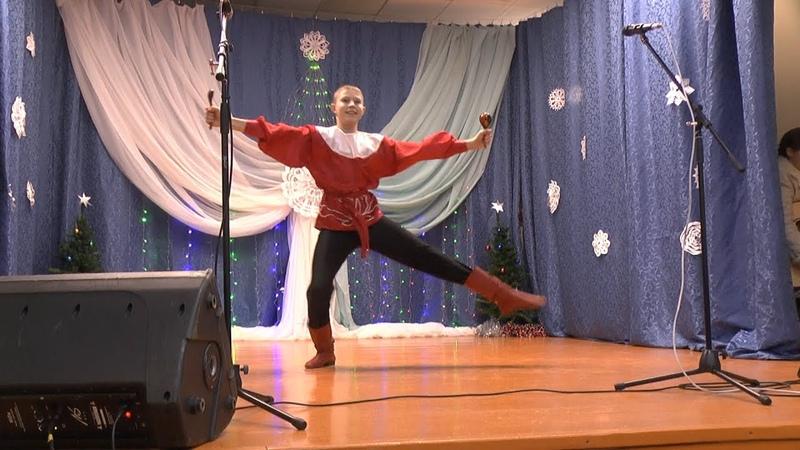 Танцует Данила Быстров (Солигалич)