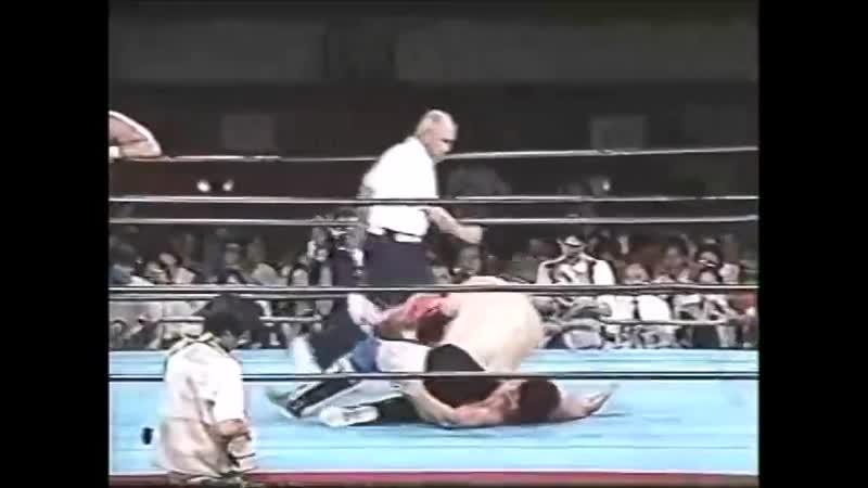 1996.08.22 - Kenta Kobashi/The Patriot vs. Stan Hansen/Dan Kroffat [JIP]