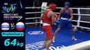 (64kg) Thailand vs Ilya Popov (Russia) /Preliminary AIBA Youth World 2018/