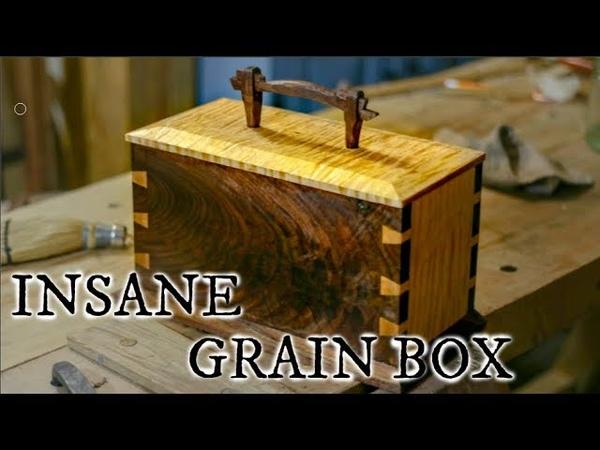 INSANE GRAIN DOVETAIL BOX