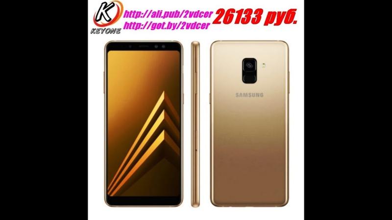 Смартфон, Samsung Galaxy A8 Plus DS A730FD, 6 Дюймов, 6 ГБ ОЗУ, 64 ГБ Память, 3500 мАч, 8 ядер, 2018