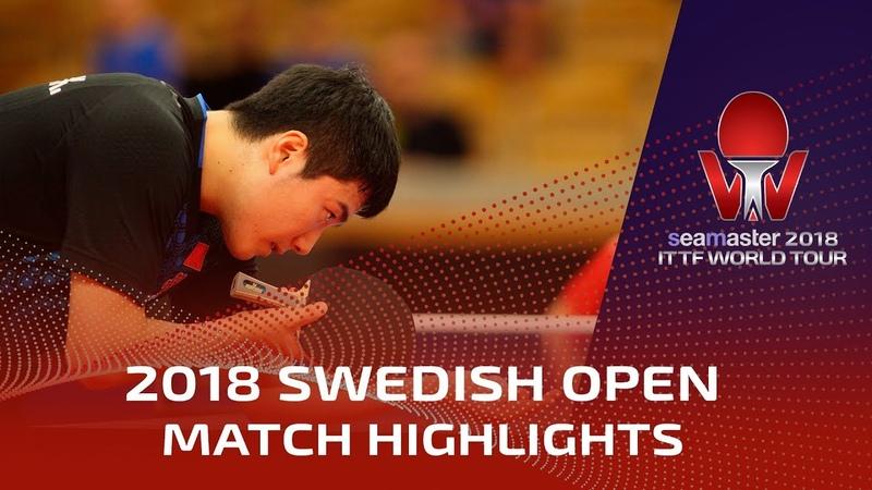 Marcos Freitas vs Liang Jingkun | 2018 ITTF Swedish Open Highlights (R32)