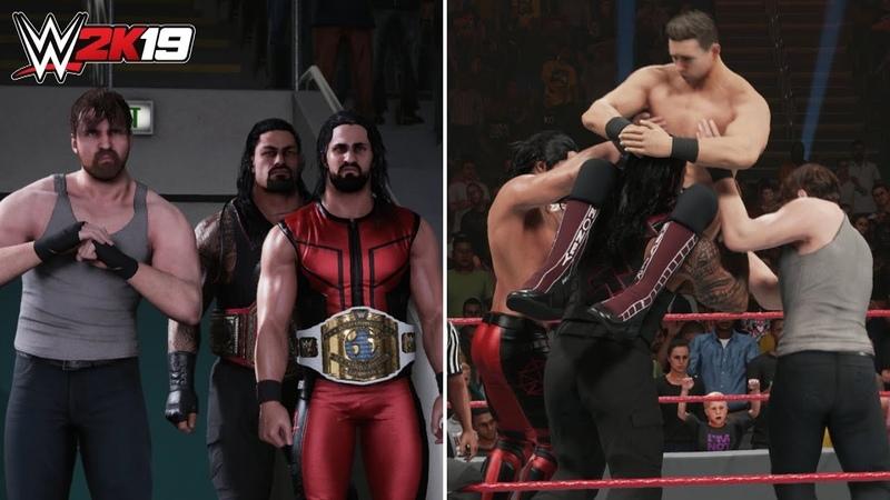 WWE 2K19 *NEW* Shield Entrance, Super Triple Powerbomb Winning Animation! (WWE 2K19 Gameplay)