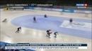 Новости на Россия 24 • Сборная России по шорт-треку выиграла эстафету чемпионата Европы
