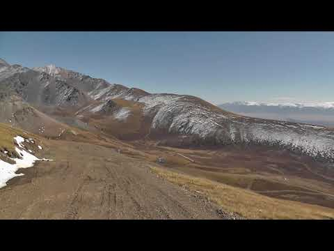 Горный Алтай с высоты птичьего полета или спуск с Акташского ретранслятора