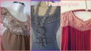 Latest new crochet yoke and bib style girls dresses design