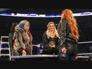 DAW | Подписание контракта к TLC - Аска, Шарлотта и Бекки.