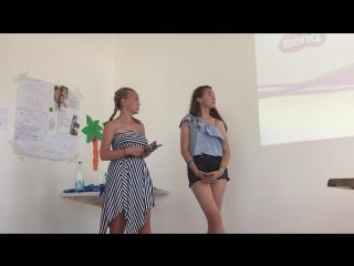 Ульяна Гущина и Маша Вексель «Морешет»