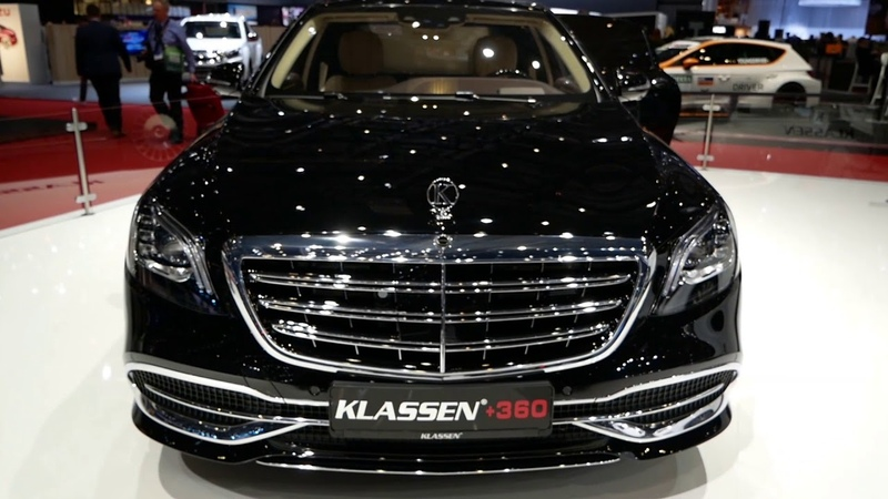 KLASSEN Extended Mercedes - Benz MAYBACH Armored Guard VR 10