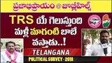 Election Survey @Jubilee Hills #8 Public Talk on MLA Maganti Gopinadh Who Is Next CM of Telangana