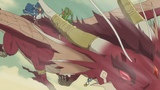 K.R summons the garnet dragon  Epic Log Horizon Scene