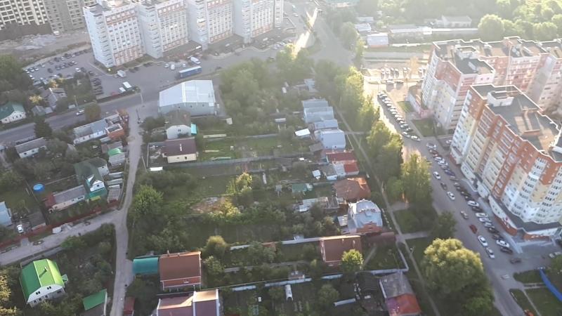 Рязань с высоты птичьего-аэростатичьего полёта))