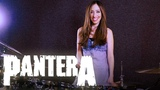 PANTERA - COWBOYS FROM HELL - DRUM COVER BY MEYTAL COHEN