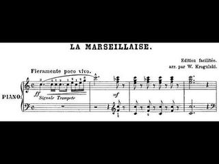 La Marseillaise - Arrangement par Wladyslaw Krogulski