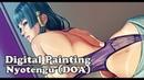 Digital Painting - Nyotengu (DOA)
