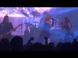 Leaves' Eyes ft Ailyn Gimenez - Into Your Light live @ Metal Female Voices Fest 2014
