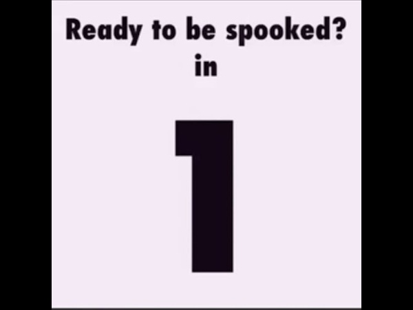 Get ready to be spooked