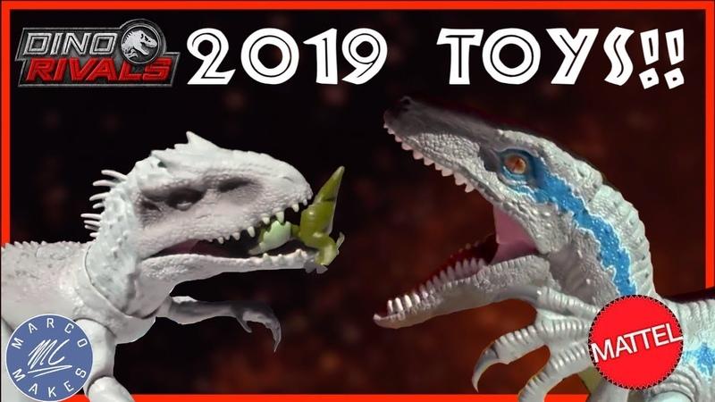 MATTEL Jurassic World New York Toy Fair 2019 - New Items, Indominus rex, super colossal blue