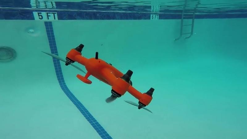 Дрон Spry с водонепроницаемым корпусом