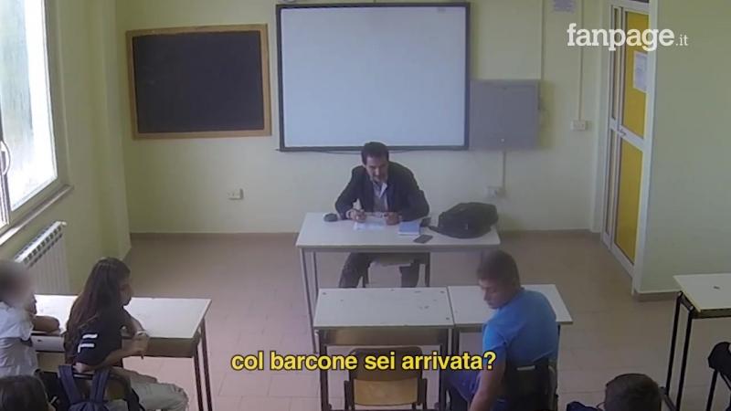 Napoli Fanpage.it - Prof razzista attacca studentessa musulmana. La reazioni dei compagni [ESPERIMENTO SOCIALE]