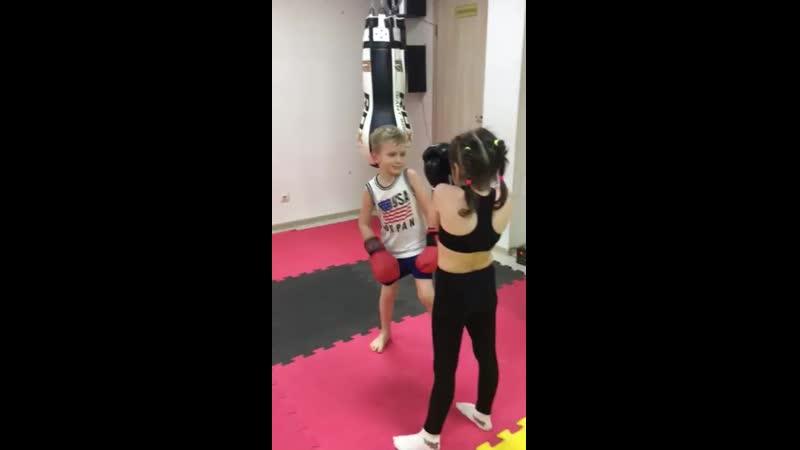 Дети с 5 до 8 лет. Тайский бокс. Тренер Прокопенко Руслан