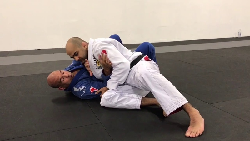 How To Escape Side Control Against A Larger Opponent by Fabio Gurgel