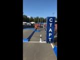 Первенство УР по биатлону.Гонка роллеры 7.5 км девушки
