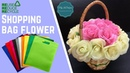 Reduce Reuse Recycle Shopping Bag Flower MyInDulzens