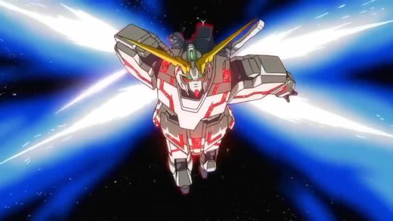 【MAD】Gundam NT Narrative Япония japan Anime MAD animationGundam