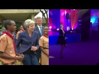 As Theresa May