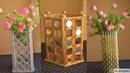 3 Diy Newspaper Flower Vase |Newspaper craft ideas | best out of waste | parul pawar