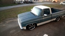 Tulsa Turnaround 1983 Slammed Squarebody C10 Hot Rod Pickup Truck