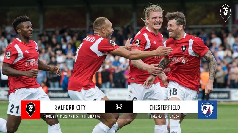 Salford City 3 2 Chesterfield National League 18 08