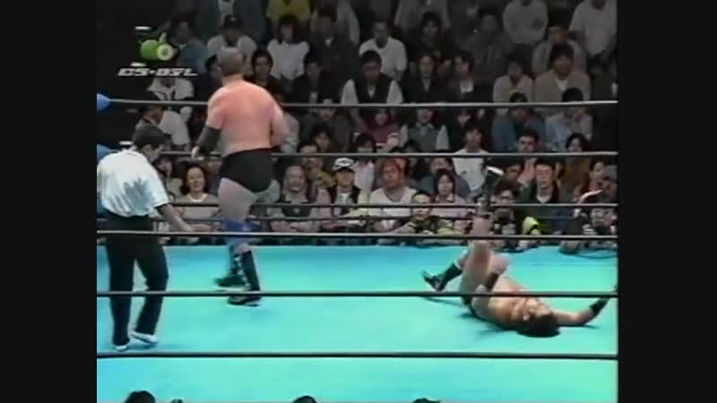 1997.09.27 - Stan Hansen/Bobby Duncum Jr. vs. Toshiaki Kawada/Masao Inoue