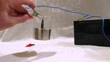 Неодимовый магнит+батарейка=мегаволчок