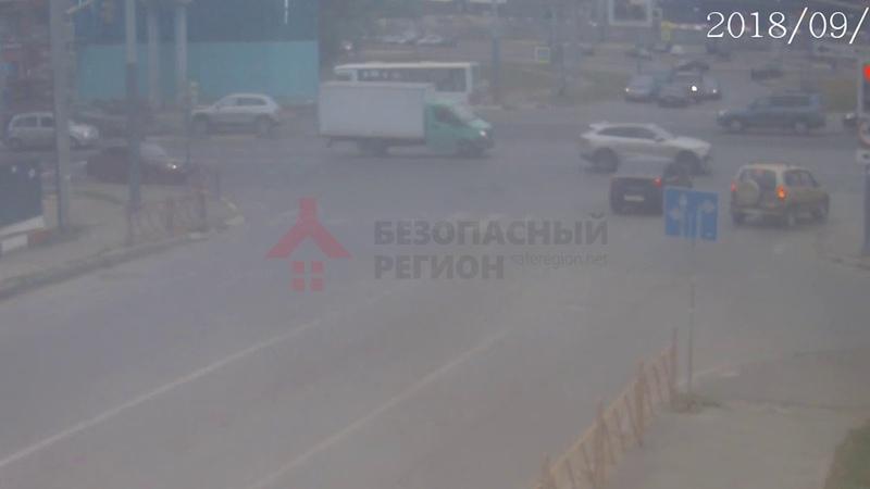 ДТП Московский/Силикатное. Капец светофору. 12.09.18.