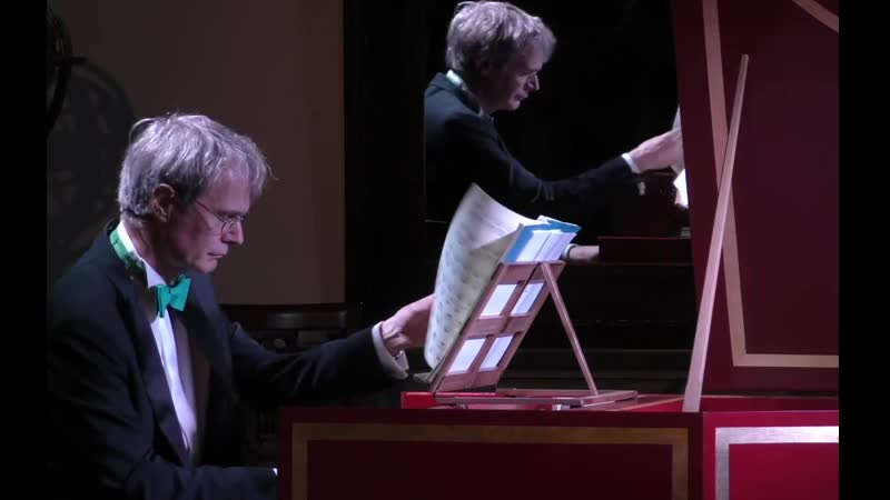1004 (5) J. S. Bach - Partita No 2 in D minor, BWV 1004 / 5. Chaconne - Fabio Bonizzoni, harpsichord