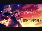Sia - Неудержимая (AMV Saber is Unstoppable)